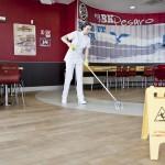 Lavaggio pavimenti con metodo HACCP